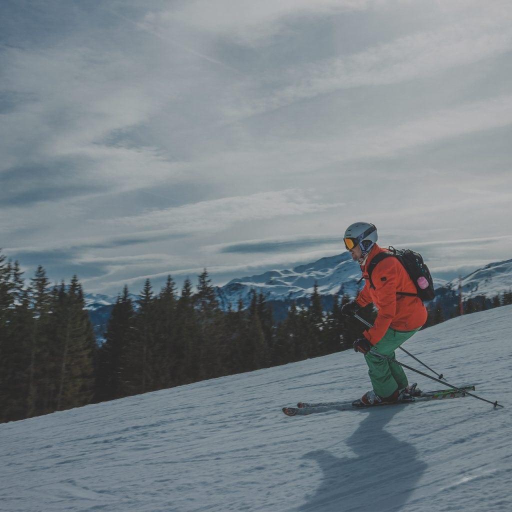 ski lessons courchevel