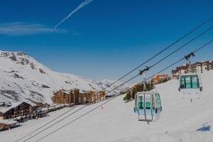 ski lessons les menuires